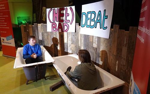 Talentgroep Debat op ONC Parkdreef